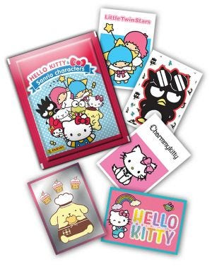 Hello Kitty & Sanrio Character - cromos faltantes