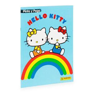 PINTA Y PEGA HELLO KITTY