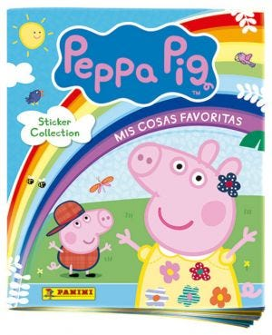 Peppa Pig 'My Favourite Things' Sticker Collection