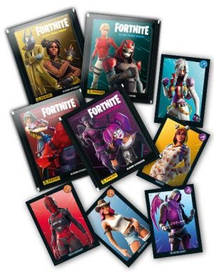 FORTNITE: BLACK FRAME SERIES - cromos faltantes