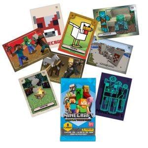 MINECRAFT Adventure Trading Card - Cartas faltantes