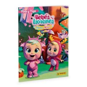 PINTA Y PEGA BEBES LLORONES (FANTASY )