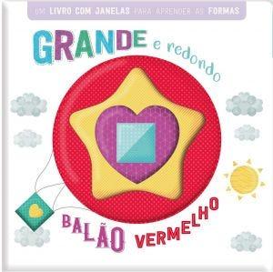 GRANDE E REDONDO BALAO VERMELHO