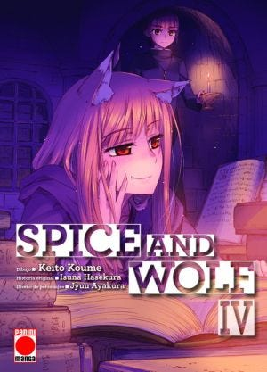 SPICE AND WOLF N.4