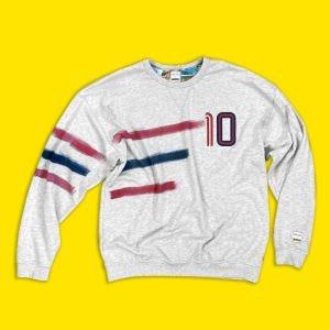 Sudadera Panini de algodón con cuello redondo - número 10