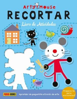 ARTY MOUSE - RECORTAR