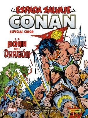 Biblioteca Conan. La Espada Salvaje de Conan - Especial Color: La Hora del Dragón