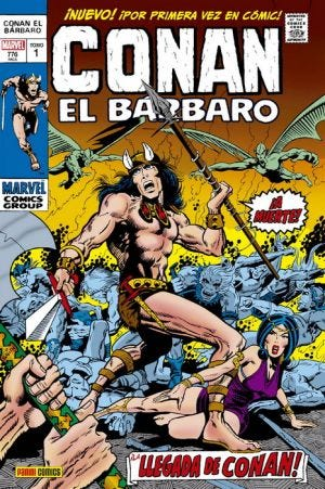 MARVEL GOLD OMNIBUS CONAN EL BÁRBARO. LA LLEGADA DE CONAN