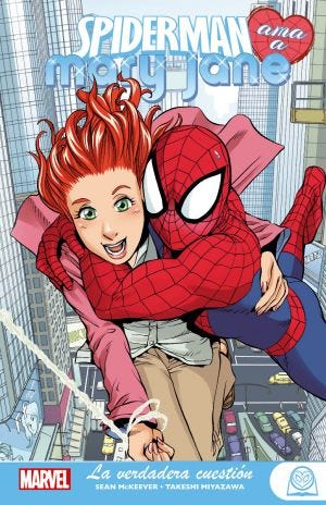 MARVEL YOUNG ADULTS SPIDERMAN AMA A MARY JANE 1. LA VERDADER