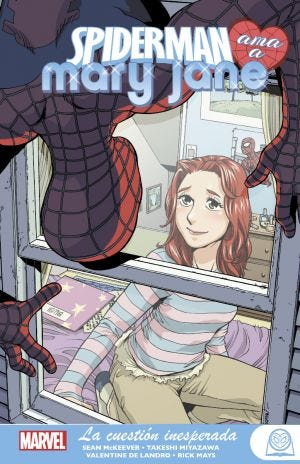 Marvel Young Adults. Spiderman ama a Mary Jane 2