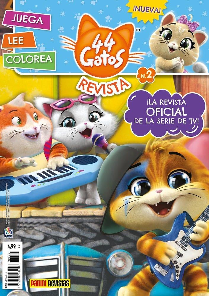 44 Gatos N.2   Panini Revistas